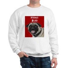 Pug Kisses Sweatshirt