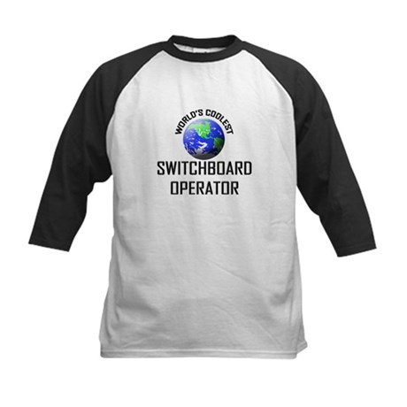 World's Coolest SWITCHBOARD OPERATOR Kids Baseball