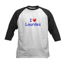 I Love Lourdes (Blue) Tee