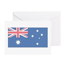 Australian Flag Greeting Cards (Pk of 10)
