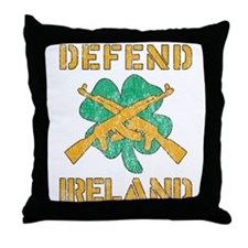 Defend Ireland Throw Pillow