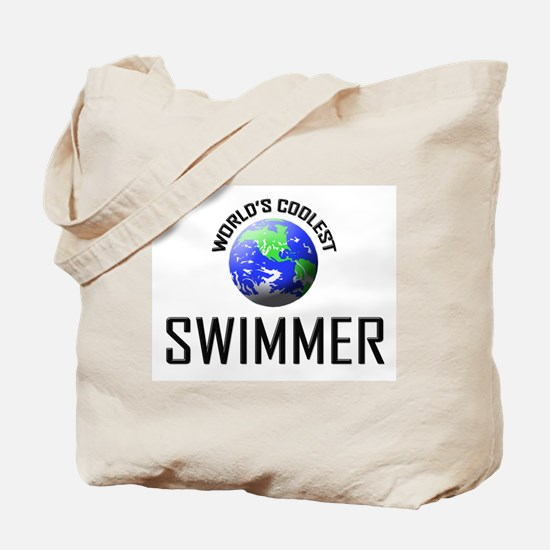 World's Coolest SWIMMER Tote Bag