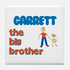 Garrett - The Big Brother Tile Coaster