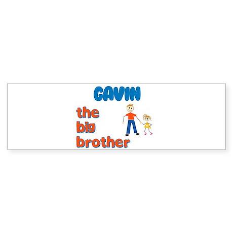 Gavin - The Big Brother Bumper Sticker