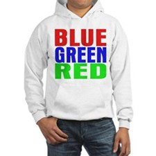 BLUE GREEN RED Jumper Hoody