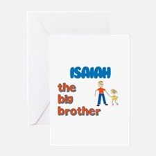 Isaiah - The Big Brother Greeting Card