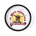 Crapper Creek Wall Clock