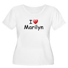 I Love Marilyn (Black) T-Shirt