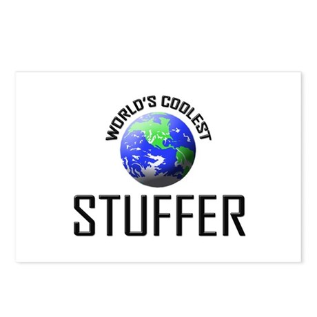 World's Coolest STUFFER Postcards (Package of 8)
