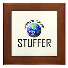 World's Coolest STUFFER Framed Tile