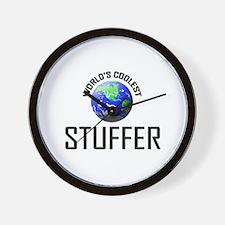World's Coolest STUFFER Wall Clock