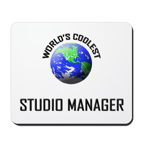 World's Coolest STUDIO MANAGER Mousepad