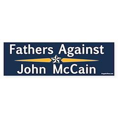 Fathers Against John McCain bumper sticker