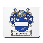 McNevins Family Crest Mousepad