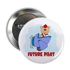 "Teddy Future Pilot 2.25"" Button (10 pack)"