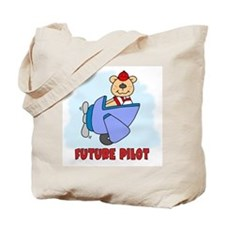 Teddy Future Pilot Tote Bag