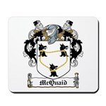 McQuaid Family Crest Mousepad