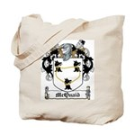McQuaid Family Crest Tote Bag