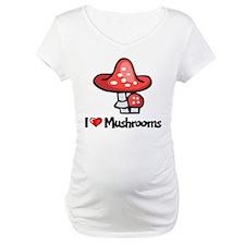I Love Mushrooms Shirt