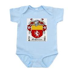 McQuillan Family Crest Infant Creeper