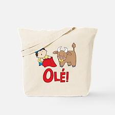 Ole! Lil Matador Tote Bag
