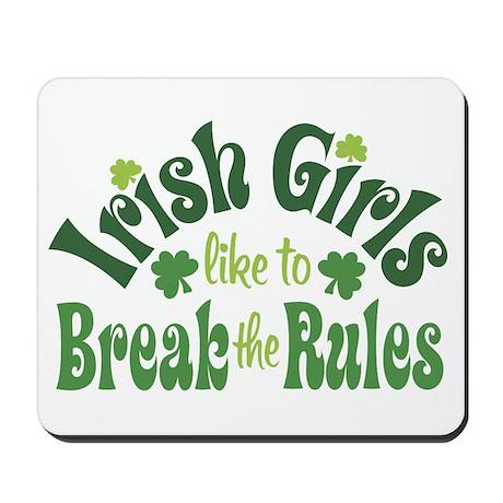 Irish Girls Mousepad