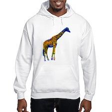 Pop Art Giraffe Jumper Hoody