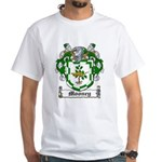 Mooney Family Crest White T-Shirt