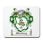 Mooney Family Crest Mousepad