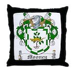 Mooney Family Crest Throw Pillow