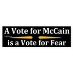 A Vote for McCain is a Vote for Fear