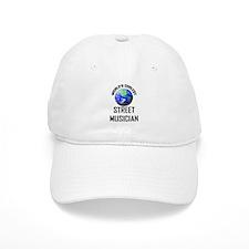 World's Coolest STREET MUSICIAN Baseball Cap