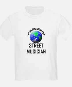 World's Coolest STREET MUSICIAN T-Shirt