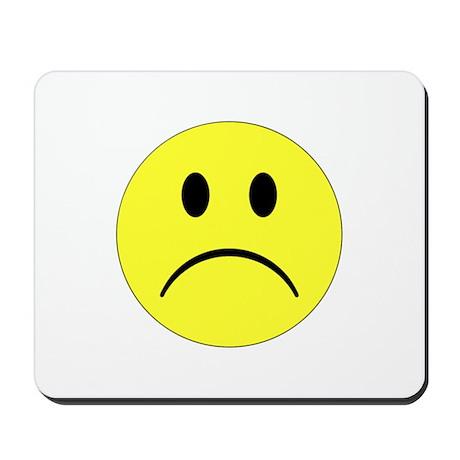 Sad Smiley Mousepad