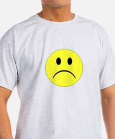 Sad Smiley T-Shirt