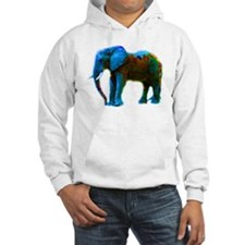 Pop Art Elephant Jumper Hoody