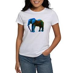Pop Art Elephant Women's T-Shirt