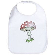 Gothic Mushroom Bib