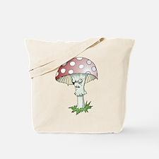 Gothic Mushroom Tote Bag