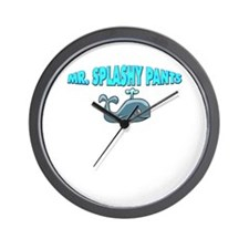Mr. Splashy Pants! Wall Clock