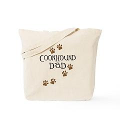 Coonhound Dad Tote Bag