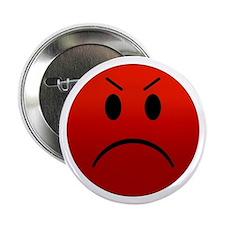 """Mean Smiley 2.25"""" Button"""