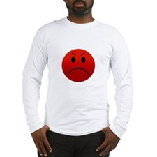 Mean Smiley Long Sleeve T-Shirt