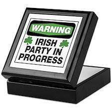 Irish Party Keepsake Box