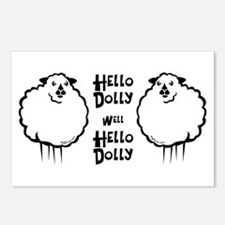 Hello Dolly Sheep Postcards (Package of 8)