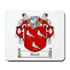 Nash Family Crest Mousepad