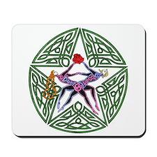 Lovers' Pentagram Mousepad