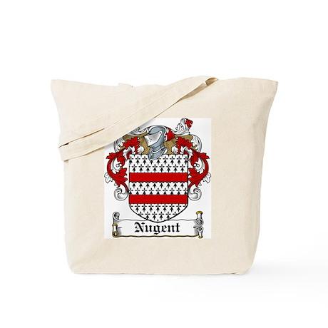 Nugent Family Crest Tote Bag