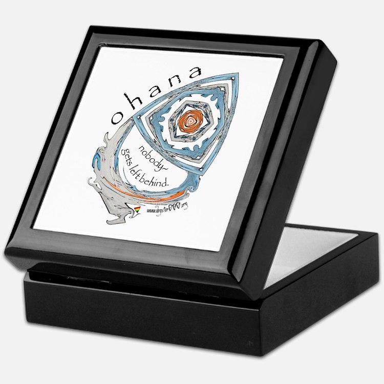 Ohana (Family) Keepsake Box