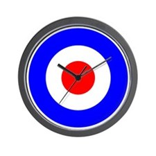 Mod Target Wall Clock